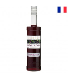 VEDRENNE CREME DE CASSIS BLACKCURRANT 15% 700 ML