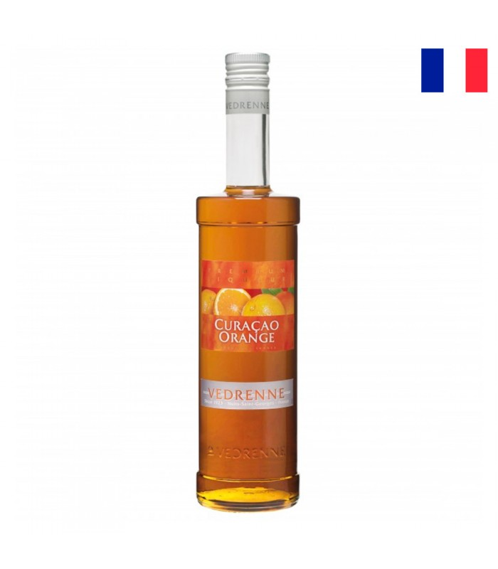VEDRENNE ORANGE CURACAO LIQUEUR 35% 700 ML